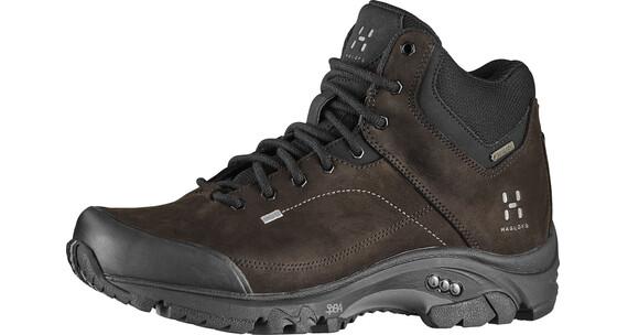Haglöfs W's Ridge Mid GT Shoes TRUE BLACK